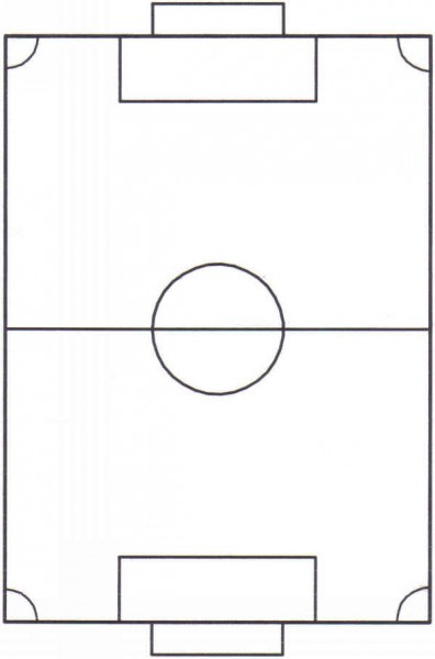 soccer field diagram printable