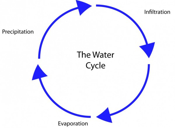 water cycle diagram printable