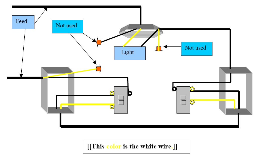 3 way switch diagram two lights