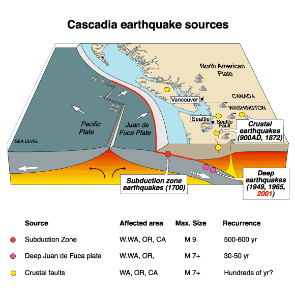 earthquake diagram pictures